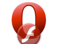 flash player для opera
