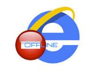 автономный режим в Internet Explorer