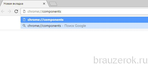 chrome://components