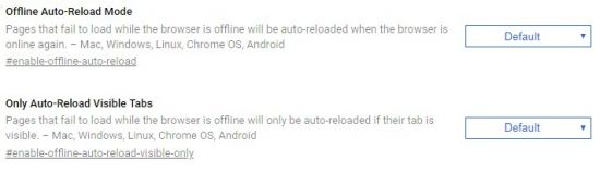 Offline Auto-Reload Mode
