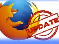 обновление Mozilla Firefox