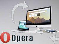 синхронизации в Опере