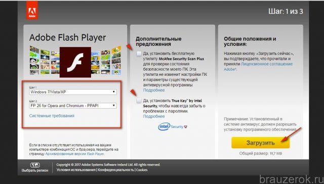 апплет Flash